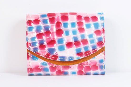 ミニ財布  世界でひとつだけシリーズ  小さいふ「ペケーニョ 母の日 ステンドグラス」#12