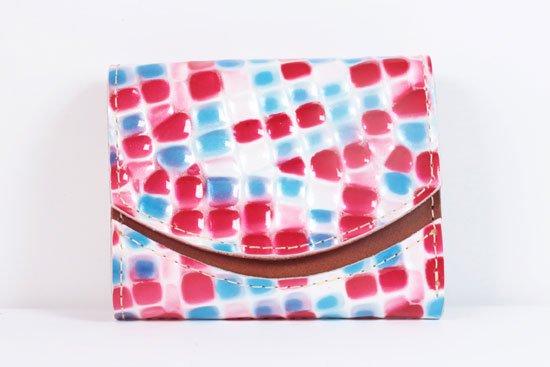 ミニ財布  世界でひとつだけシリーズ  小さいふ「ペケーニョ 母の日 ステンドグラス」#13