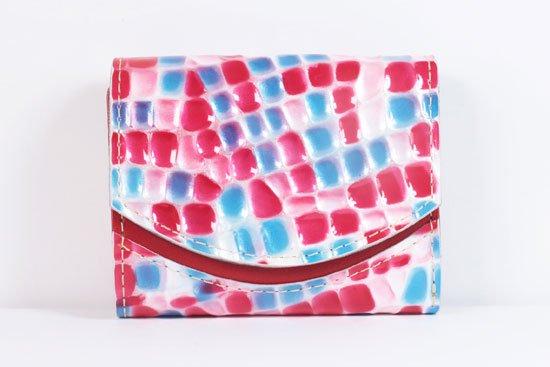 ミニ財布  世界でひとつだけシリーズ  小さいふ「ペケーニョ 母の日 ステンドグラス」#18