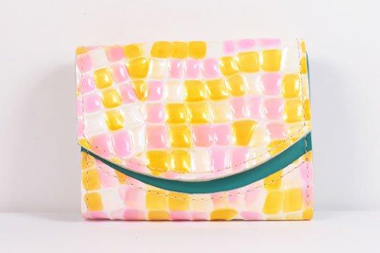ミニ財布  世界でひとつだけシリーズ  小さいふ「ペケーニョ 母の日 ステンドグラス」#19
