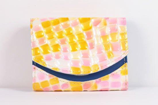 ミニ財布  世界でひとつだけシリーズ  小さいふ「ペケーニョ 母の日 ステンドグラス」#20