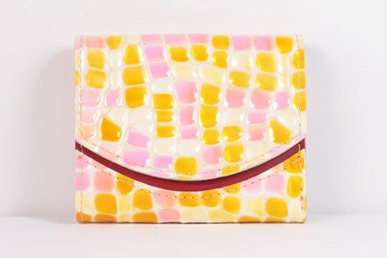 ミニ財布  世界でひとつだけシリーズ  小さいふ「ペケーニョ 母の日 ステンドグラス」#21