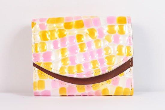ミニ財布  世界でひとつだけシリーズ  小さいふ「ペケーニョ 母の日 ステンドグラス」#22