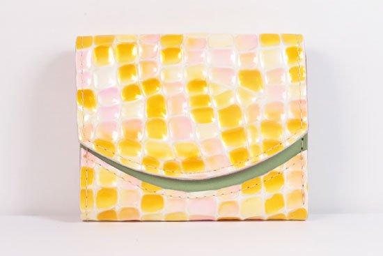 ミニ財布  世界でひとつだけシリーズ  小さいふ「ペケーニョ 母の日 ステンドグラス」#23