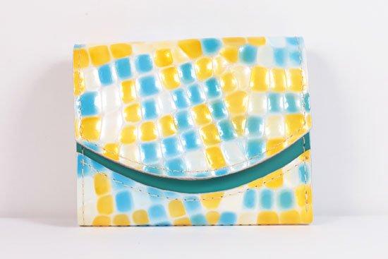 ミニ財布  世界でひとつだけシリーズ  小さいふ「ペケーニョ 母の日 ステンドグラス」#29