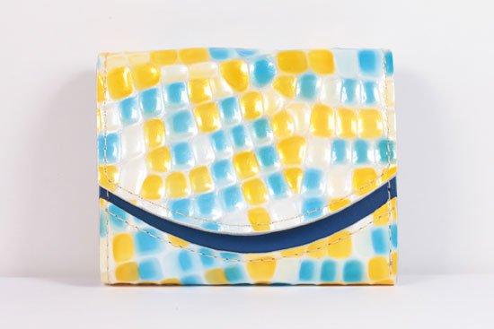 ミニ財布  世界でひとつだけシリーズ  小さいふ「ペケーニョ 母の日 ステンドグラス」#31