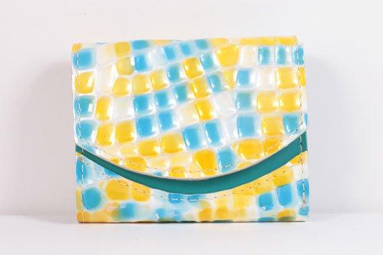 ミニ財布  世界でひとつだけシリーズ  小さいふ「ペケーニョ 母の日 ステンドグラス」#32