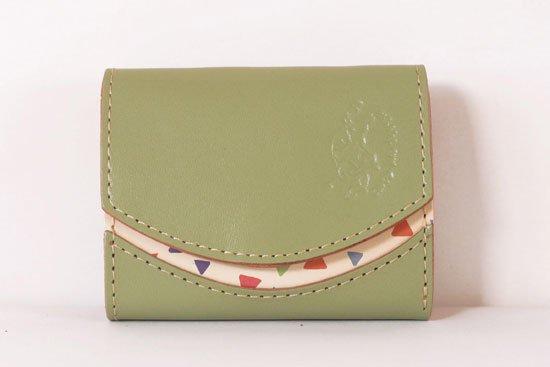 ミニ財布  今日の小さいふシリーズ「ペケーニョ Clover< B >21年4月2日」