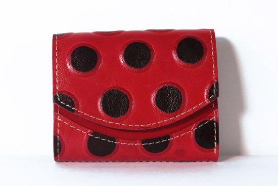 ミニ財布  今日の小さいふシリーズ「ペケーニョ wish button< B >21年4月16日」