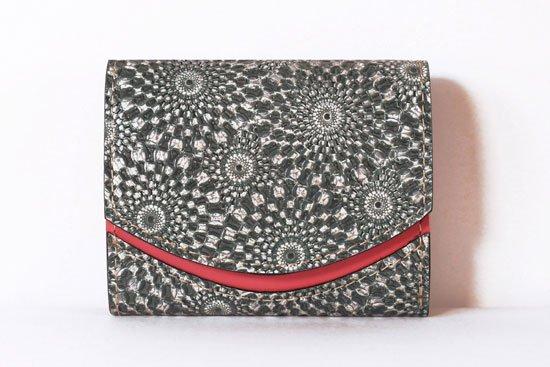 ミニ財布  今日の小さいふシリーズ「ペケーニョ スピログラフ< A >21年4月20日」