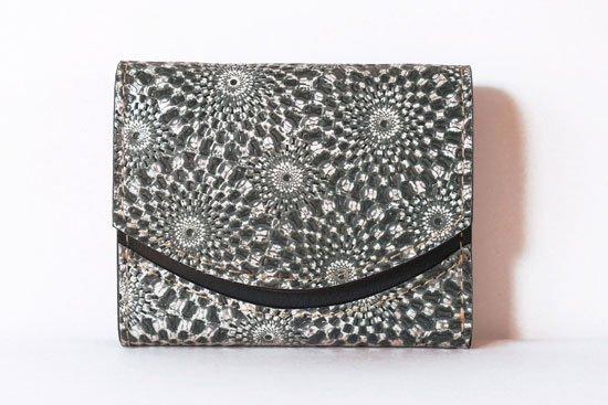 ミニ財布  今日の小さいふシリーズ「ペケーニョ スピログラフ< B >21年4月20日」
