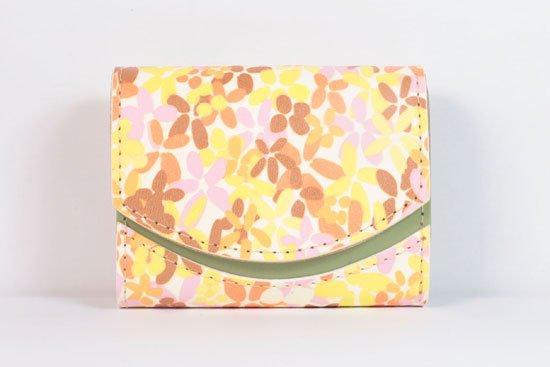 ミニ財布  今日の小さいふシリーズ「ペケーニョ 初夏のミツバチ< A >21年4月27日」