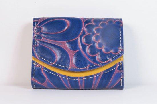 ミニ財布  今日の小さいふシリーズ「ペケーニョ blue bird< B >21年4月30日」