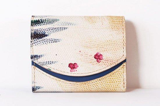 ミニ財布  今日の小さいふシリーズ「ペケーニョ Paint stains< A >21年4月8日」