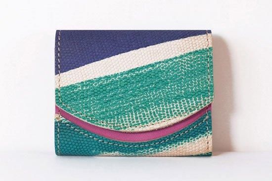 ミニ財布  今日の小さいふシリーズ「ペケーニョ Paint stains< B >21年4月8日」