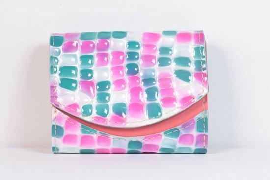 ミニ財布  今日の小さいふシリーズ「ペケーニョ ゼリービーンズ< B >21年4月29日」