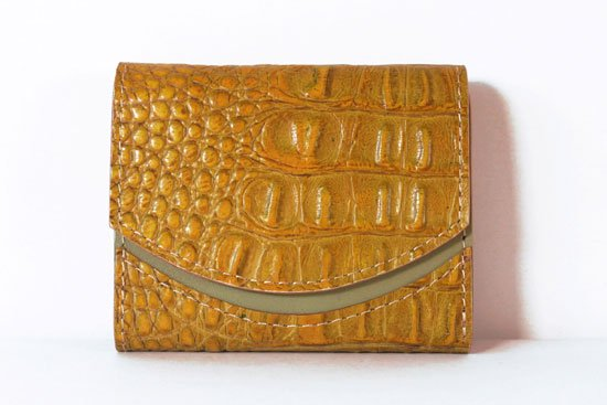 ミニ財布  今日の小さいふシリーズ「ペケーニョ サマーゴールド< A >21年4月17日」