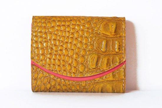 ミニ財布  今日の小さいふシリーズ「ペケーニョ サマーゴールド< B >21年4月17日」