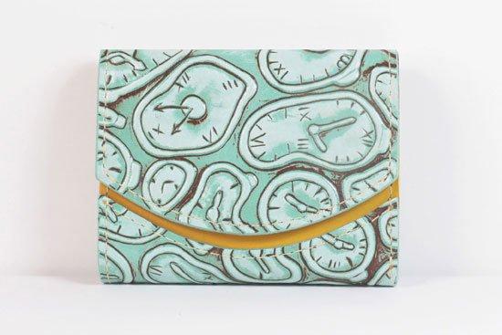 ミニ財布  世界でひとつだけシリーズ  小さいふ「ペケーニョ ダリ 時計」#3