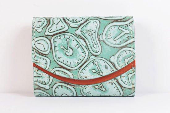 ミニ財布  世界でひとつだけシリーズ  小さいふ「ペケーニョ ダリ 時計」#4