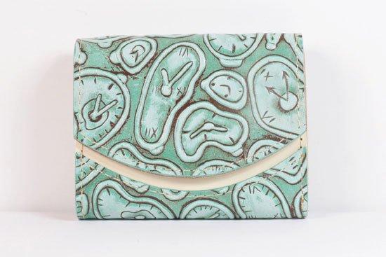ミニ財布  世界でひとつだけシリーズ  小さいふ「ペケーニョ ダリ 時計」#5