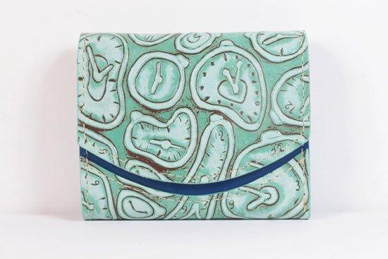 ミニ財布  世界でひとつだけシリーズ  小さいふ「ペケーニョ ダリ 時計」#6