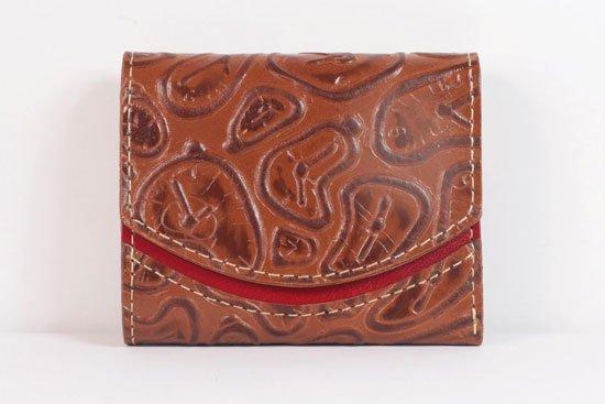 ミニ財布  世界でひとつだけシリーズ  小さいふ「ペケーニョ ダリ 時計」#11