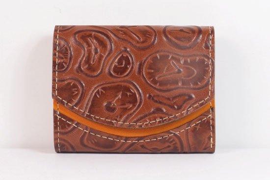 ミニ財布  世界でひとつだけシリーズ  小さいふ「ペケーニョ ダリ 時計」#12