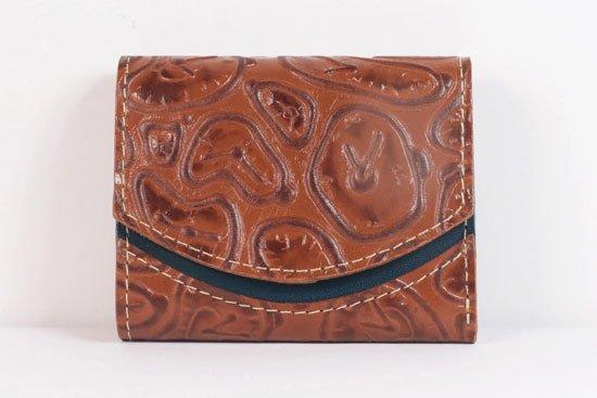 ミニ財布  世界でひとつだけシリーズ  小さいふ「ペケーニョ ダリ 時計」#13