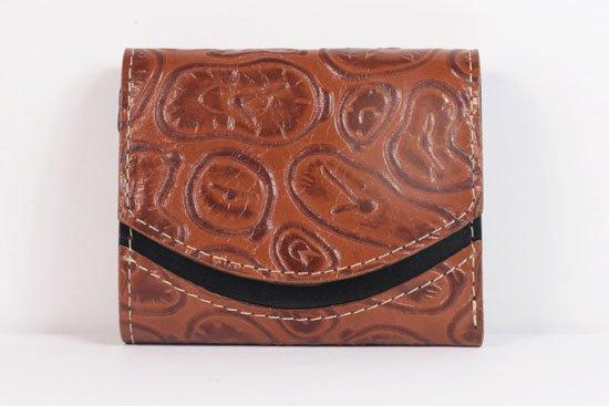ミニ財布  世界でひとつだけシリーズ  小さいふ「ペケーニョ ダリ 時計」#16