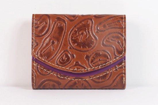ミニ財布  世界でひとつだけシリーズ  小さいふ「ペケーニョ ダリ 時計」#17