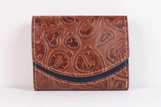 ミニ財布  世界でひとつだけシリーズ  小さいふ「ペケーニョ ダリ 時計」#18