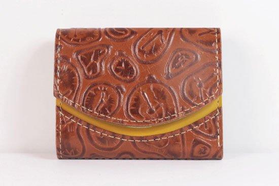 ミニ財布  世界でひとつだけシリーズ  小さいふ「ペケーニョ ダリ 時計」#19