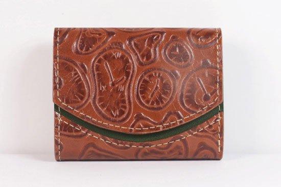 ミニ財布  世界でひとつだけシリーズ  小さいふ「ペケーニョ ダリ 時計」#20