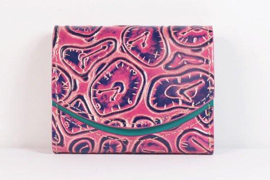 ミニ財布  世界でひとつだけシリーズ  小さいふ「ペケーニョ ダリ 時計」#21