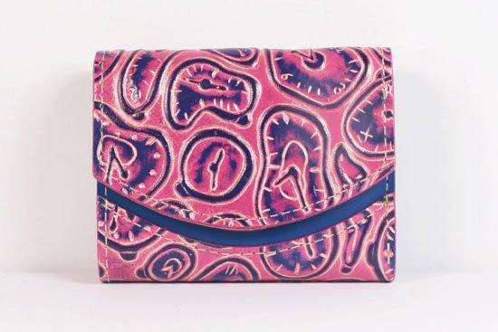 ミニ財布  世界でひとつだけシリーズ  小さいふ「ペケーニョ ダリ 時計」#24