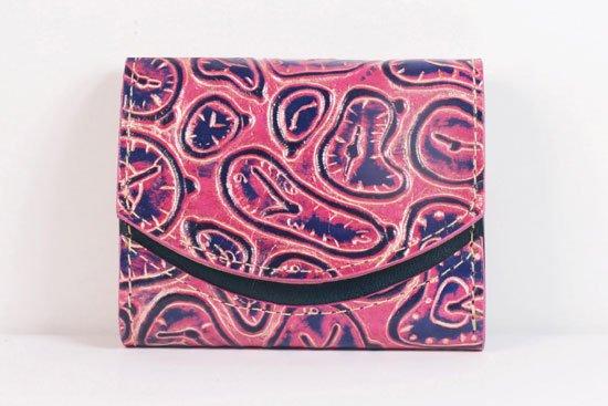 ミニ財布  世界でひとつだけシリーズ  小さいふ「ペケーニョ ダリ 時計」#27