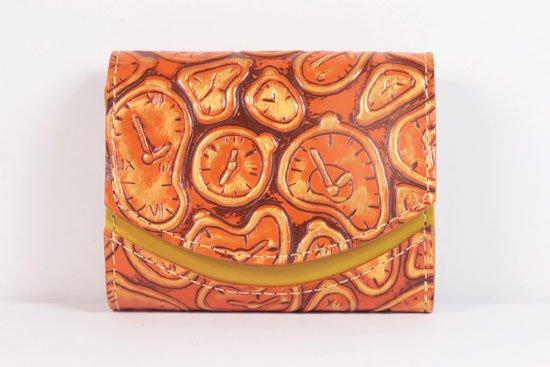ミニ財布  世界でひとつだけシリーズ  小さいふ「ペケーニョ ダリ 時計」#31