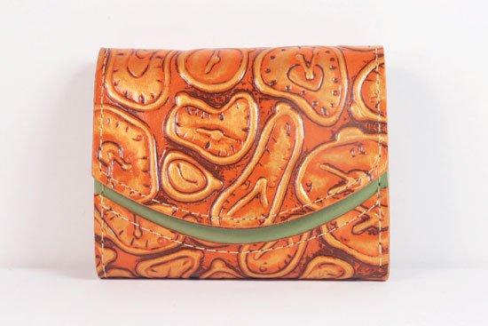 ミニ財布  世界でひとつだけシリーズ  小さいふ「ペケーニョ ダリ 時計」#39
