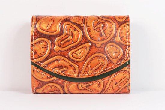 ミニ財布  世界でひとつだけシリーズ  小さいふ「ペケーニョ ダリ 時計」#40