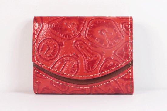 ミニ財布  世界でひとつだけシリーズ  小さいふ「ペケーニョ ダリ 時計」#41