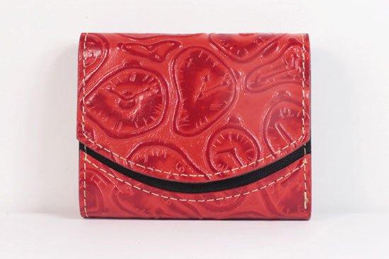 ミニ財布  世界でひとつだけシリーズ  小さいふ「ペケーニョ ダリ 時計」#42