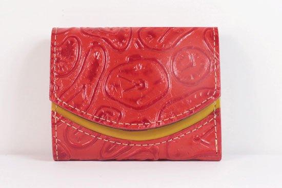 ミニ財布  世界でひとつだけシリーズ  小さいふ「ペケーニョ ダリ 時計」#43