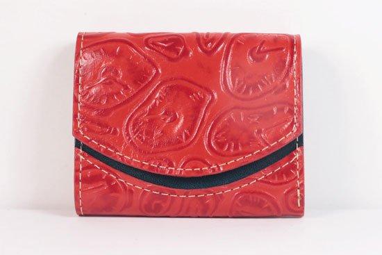 ミニ財布  世界でひとつだけシリーズ  小さいふ「ペケーニョ ダリ 時計」#44