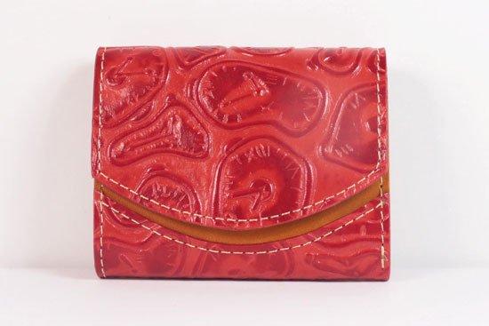 ミニ財布  世界でひとつだけシリーズ  小さいふ「ペケーニョ ダリ 時計」#45