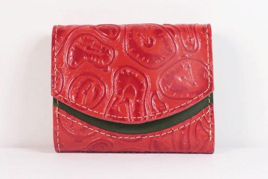 ミニ財布  世界でひとつだけシリーズ  小さいふ「ペケーニョ ダリ 時計」#46