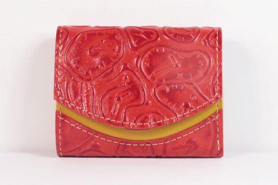 ミニ財布  世界でひとつだけシリーズ  小さいふ「ペケーニョ ダリ 時計」#47