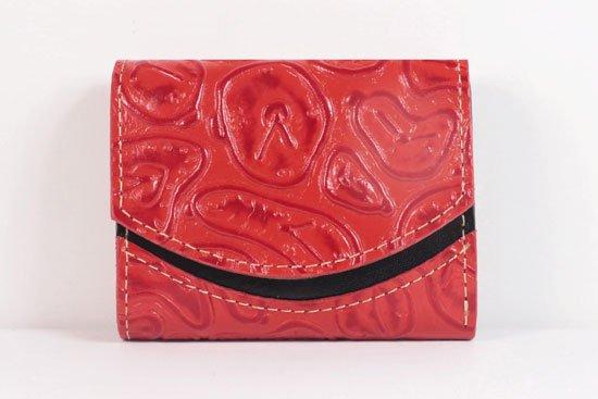 ミニ財布  世界でひとつだけシリーズ  小さいふ「ペケーニョ ダリ 時計」#49