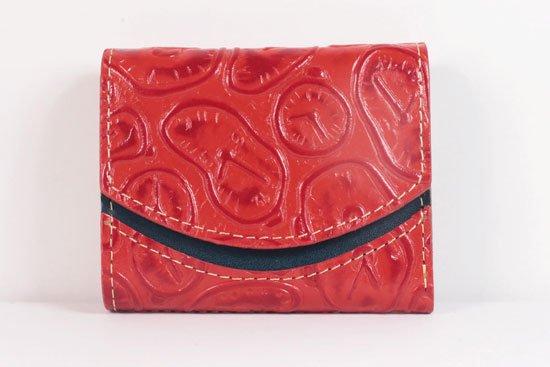 ミニ財布  世界でひとつだけシリーズ  小さいふ「ペケーニョ ダリ 時計」#50