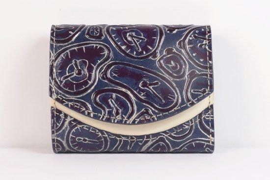 ミニ財布  世界でひとつだけシリーズ  小さいふ「ペケーニョ ダリ 時計」#51